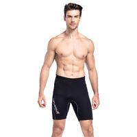 2MM Neoprene Wetsuit Shorts Men Swim Scuba Diving Snorkeling Surfing Short Pants