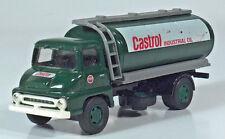 """Lledo Vanguards Ford Thames Trader Castrol Tanker Truck 4"""" Diecast Scale Model"""
