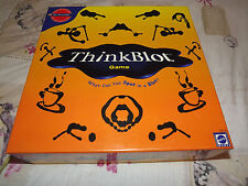 THINKBLOT BOARD GAME BY MATTEL FROM THE INVENTOR OF PICTIONARY FAMILY GAME