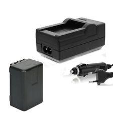 Akku + Ladegerät für Panasonic HC-V110, V120, V160, V210, V250EB infochip ACCU