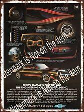 "1980 Chevrolet Chevy Camaro Z28 Garage Shop Man Cave Metal Sign 9x12"" A529"