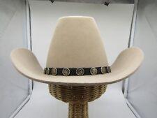 Stetson Men's 4X Beaver Men's Beige Felt Cowboy Hat Size Size 7 3/8