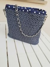 Borsa Crochet Shoulder Summer Bag Fashion Trend lavorata a mano