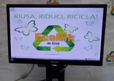 """Monitor LCD Philips 193V 18,5"""" ingresso VGA, risoluzione 1366x768"""