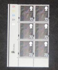GB - SCOTLAND  2006  72p Tartan definitive Plate block of 6  SG S120 MNH (S*-10)