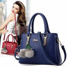 Lady Leather Handbags Women Shoulder Crossbody Bags Messenger Satchel Tote Purse