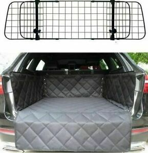 Deluxe Mesh Dog Guard + Quilted Boot Liner For Range Rover 2002-2012 L322 3rdGen