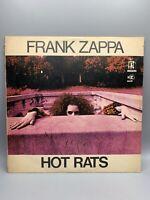 """Frank Zappa """"Hot Rats"""" LP Record 1/1 1st pressing Bizarre/Reprise RS 6356"""