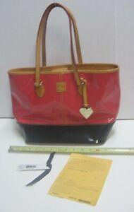 Dooney & Bourke Shopper Bag Hot Pink / Black Purse Pocketbook PV443 HL ladies