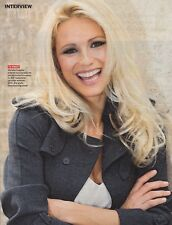 "Michelle Hunziker  ""Collection"" of international reporters and articles..."