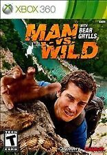 Man vs. Wild W/ Bear Grylls XBOX 360! SURVIVAL, HUNT, HUNTER, SURVIVE DISCOVERY