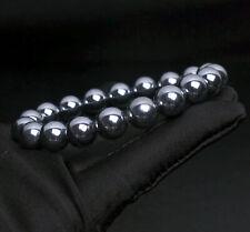 Light Crystal Beads Bracelet 10.2mm Natural White Terahertz Strong