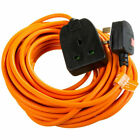Surge Protected 13 Amp 1 Gang 10M Outdoor Garden Mains Extension Lead Heavy Duty