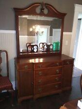 New listing Vintage Drexel Mahogany Duncan Phyfe 4 Piece Furniture Set Nice!