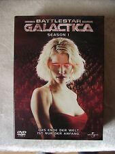 Battlestar Galactica Season 1 * Kult DVD Box  * 4 Disc Edition * incl. Bonus !!!