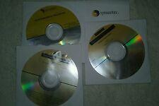 Symantec Enterprise Security disks x 2. Plus  Antivirus x 1