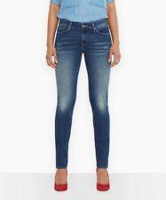 Levis Demi Curve ID Skinny Damen Jeans Clear Water Mid Rise Gr. 23/32 blau NEU