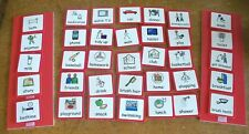35 Picture Cards Schedule Board Autism ASD Visual Schedule Home