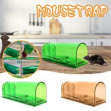 2PCS Mouse Trap Humane Live Catcher Rat Vermin Rodent Cage Pest Reusable CA