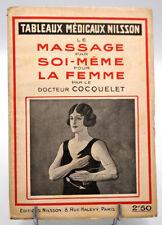 Tableaux Sportifs Nilsson - MASSAGE PAR SOI-MEME POUR LA FEMME - Dr Cocquelet