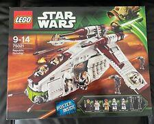 LEGO STAR WARS 75021 Republic Gunship. Brand New in Box