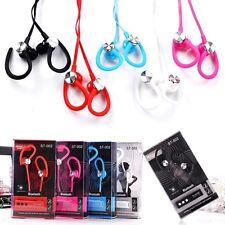 Universal Bluetooth Inalámbrico sobre las orejas Correr Gimnasio Auriculares Auriculares con micrófono