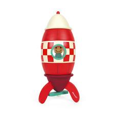 Janod Super Rocket Magnet Kit Kinderspielzeug Kinderrakete Magnetspielzeug   Ve