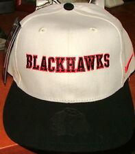CHICAGO BLACKHAWKS NHL ICE HOCKEY MENS NIKE FLAT BRIM ADJUSTABLE CAP HAT NWT NEW