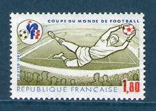 TIMBRE 2209 NEUF XX LUXE - COUPE DU MONDE DE FOOTBALL - GARDIEN DE BUT ET STADE