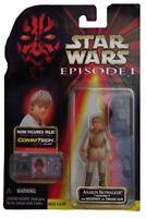 Star Wars Episode I Anakin Skywalker Tatooine Figure w/CommTech Chip 1998 Hasbro