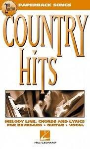 Country Hits 2nd Edition Sheet Music Paperback Songs NEW 000702013