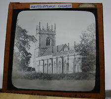 c1900 - BATTLEFIELD CHURCH - SHREWSBURY - Shropshire Glass Lantern Photo Slide