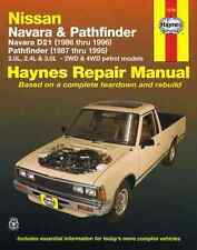 HAYNES WORKSHOP SERVICE REPAIR MANUAL BOOK NISSAN NAVARA D21 PATHFINDER 86-96