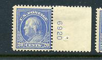 Scott #419 Franklin Perf 12 Mint Plate # Stamp NH (Stock #419-12)