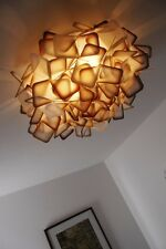 Plafonnier moderne Lampe à suspension Made in Italy Lustre Orange Slamp 65966