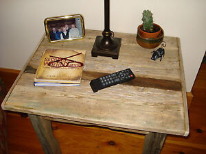 """Driftwood End Table (28""""x22""""x24""""H"""")"""