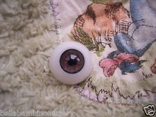~EyEcO EyEs PoLyGLaSs Eyes ChUcK HaZeL 22MM ~ REBORN DOLL SUPPLIES