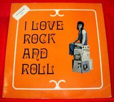 I Love Rock And Roll LP DUTCH Mel McGonnigle/Jim McRory/Renowns Rockabilly VINYL