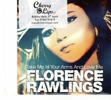 (FT731) Florence Rawlings, Take Me In Your Arms And Love Me - 2010 DJ CD