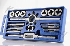 Gewindeschneider Gewindeschneidwerkzeug Set 16 teilig M3, M4, M5, M6, M8,M10,M12