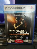 Tom Clancy's Splinter Cell: Pandora Tomorrow Sony PlayStation 2 PS2 - complete