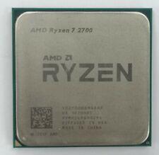 AMD Ryzen 7 2700 Desktop Processor AM4 Eight Core YD2700BBM88AF Good Condition