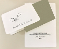 WILL YOU Give Me Away / Flower Girl / Witness / Ring Bearer card/invite - 0609