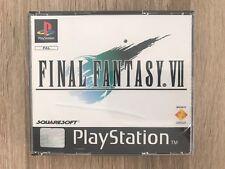 Juego Final Fantasy VII Psx Ps1 PlayStation 1 Completo PAL