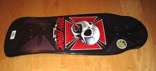 Powell Peralta TONY HAWK skateboard deck Bones Brigade black prple chicken skull