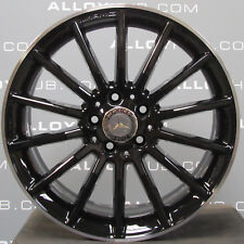 "GENUINE MERCEDES-BENZ A CLASS AMG 18""INCH 14 SPOKE BLACK SINGLE ALLOY WHEEL W176"