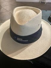 Vintage Imperial Headwear Golf Sun Straw Hat Park Meadows Sm/Med