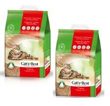 2x20L = 40L Cat's Best Original Öko Plus Katzenstreu Cats Best