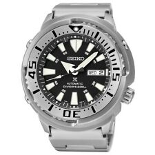 Seiko Black Monster Baby Tuna Prospex Men's Stainless Steel Watch