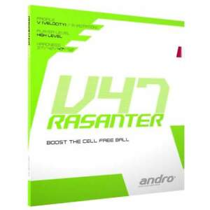 Andro Rasanter V47 Table tennis rubber UK official distributor Free P&P